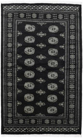 Pakistan Bokhara 2Ply Rug 125X199 Authentic  Oriental Handknotted Black/Dark Grey (Wool, Pakistan)