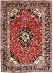 Keshan Rug 255X353 Authentic  Oriental Handknotted Dark Red/Dark Brown Large (Wool, Persia/Iran)