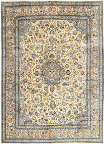Kashmar Rug 303X405 Authentic  Oriental Handknotted Light Brown/Beige Large (Wool, Persia/Iran)