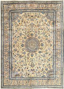 Kashmar Matta 303X405 Äkta Orientalisk Handknuten Mörkbeige/Ljusgrå/Mörkgrå Stor (Ull, Persien/Iran)