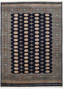 Pakistan Bokhara 2Ply Rug 219X302 Authentic  Oriental Handknotted Dark Purple/Dark Grey (Wool, Pakistan)