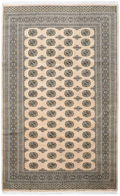 Pakistan Bokhara 2Ply Rug 198X318 Authentic  Oriental Handknotted Light Brown/Beige/Dark Grey (Wool, Pakistan)