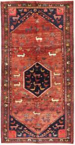 Lori Teppich  160X314 Echter Orientalischer Handgeknüpfter Dunkelrot/Dunkellila (Wolle, Persien/Iran)