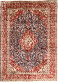 Keshan Matto 297X410 Itämainen Käsinsolmittu Tummanharmaa/Tummanpunainen Isot (Villa, Persia/Iran)