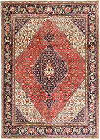 Tabriz Rug 240X330 Authentic  Oriental Handknotted Light Brown/Dark Purple (Wool, Persia/Iran)