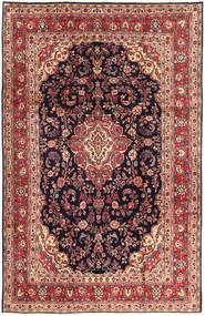 Hamedan Shahrbaf Koberec 215X337 Orientální Ručně Tkaný Tmavě Fialová/Hnědá (Vlna, Persie/Írán)
