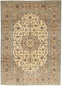 Keshan Matto 214X297 Itämainen Käsinsolmittu Vaaleanruskea/Tummanharmaa (Villa, Persia/Iran)