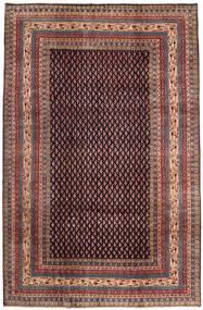Sarough Mir Alfombra 212X323 Oriental Hecha A Mano Marrón/Verde Oscuro (Lana, Persia/Irán)
