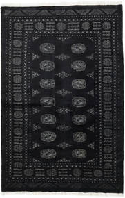 Pakistan Bokhara 3Ply Rug 137X206 Authentic  Oriental Handknotted Black (Wool, Pakistan)