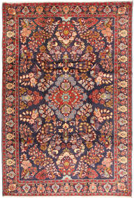 Bakhtiari Rug 225X335 Authentic  Oriental Handknotted Dark Purple/Dark Red (Wool, Persia/Iran)