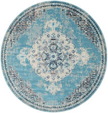 Turid - Kék Szőnyeg Ø 200 Modern Kerek Világoskék/Világosszürke ( Törökország)