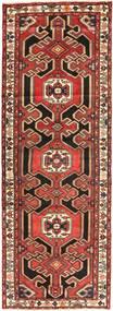 Saveh Tapis 107X312 D'orient Fait Main Tapis Couloir Marron Foncé/Rouge Foncé (Laine, Perse/Iran)