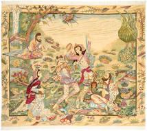 Tabriz 50 Raj med silke teppe AXVZZZY224