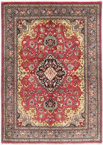 Tabriz Rug 143X200 Authentic  Oriental Handknotted Dark Red/Dark Brown (Wool, Persia/Iran)