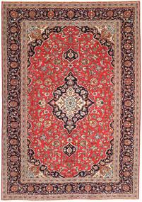 Keshan Patina Rug 247X350 Authentic Oriental Handknotted Brown/Dark Red (Wool, Persia/Iran)