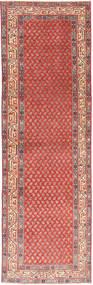 タブリーズ パティナ 絨毯 93X314 オリエンタル 手織り 廊下 カーペット 錆色/薄茶色 (ウール, ペルシャ/イラン)