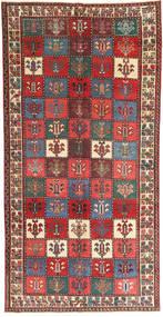 Bakhtiar Patina Matto 142X280 Itämainen Käsinsolmittu Ruskea/Tummanharmaa (Villa, Persia/Iran)