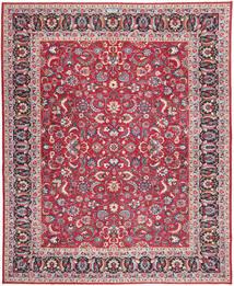 Tabriz Patina Matta 305X390 Äkta Orientalisk Handknuten Röd/Lila Stor (Ull, Persien/Iran)