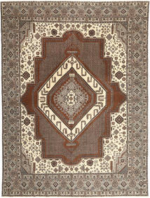 Tabriz Patina Rug 295X405 Authentic  Oriental Handknotted Light Brown/Brown Large (Wool, Persia/Iran)