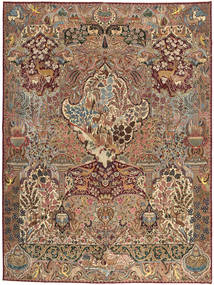 Kashmar Patina Rug 295X387 Authentic Oriental Handknotted Light Brown/Brown Large (Wool, Persia/Iran)