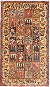 Tabriz Patina Matto 154X270 Itämainen Käsinsolmittu Vaaleanruskea/Tummanruskea (Villa, Persia/Iran)
