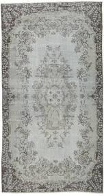 Colored Vintage Teppich  113X213 Echter Moderner Handgeknüpfter Hellgrau/Dunkelgrau (Wolle, Türkei)