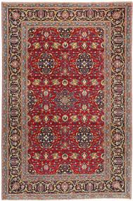 Keszan Patina Dywan 208X317 Orientalny Tkany Ręcznie Brązowy/Ciemnobrązowy (Wełna, Persja/Iran)