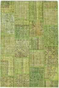 Patchwork Dywan 157X234 Nowoczesny Tkany Ręcznie Jasnozielony/Zielony/Oliwkowy (Wełna, Turcja)