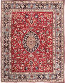 Tabriz Patina Matto 300X380 Itämainen Käsinsolmittu Beige/Punainen Isot (Villa, Persia/Iran)