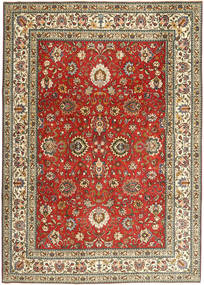 Tabriz Patina Rug 242X336 Authentic  Oriental Handknotted Dark Red/Light Brown (Wool, Persia/Iran)