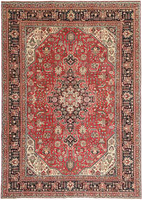 Tabriz Patina Rug 244X346 Authentic  Oriental Handknotted Light Brown/Brown (Wool, Persia/Iran)