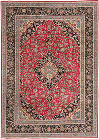 Tabriz Patina Rug 243X340 Authentic  Oriental Handknotted Light Brown/Brown (Wool, Persia/Iran)