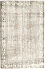 Colored Vintage Rug 200X305 Authentic  Modern Handknotted Light Grey/Dark Beige/Beige (Wool, Persia/Iran)