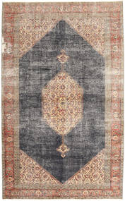 Colored Vintage Teppe 210X336 Ekte Moderne Håndknyttet Lysbrun/Lys Grå (Ull, Persia/Iran)