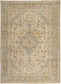 Keshan Patina Alfombra 272X365 Oriental Hecha A Mano Marrón Claro/Beige Grande (Lana, Persia/Irán)