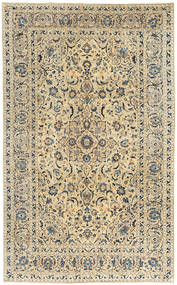 Keshan Patina Rug 190X305 Authentic  Oriental Handknotted Light Brown/Dark Beige (Wool, Persia/Iran)