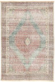 Senneh Patina Teppe 122X180 Ekte Orientalsk Håndknyttet Lys Grå/Lysbrun (Ull, Persia/Iran)