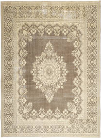 Kerman Patina Rug 285X388 Authentic Oriental Handknotted Light Brown/Beige Large (Wool, Persia/Iran)