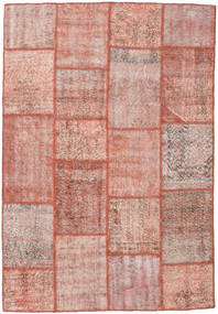 Patchwork Rug 160X230 Authentic  Modern Handknotted Light Pink/Brown (Wool, Turkey)