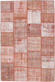 Patchwork Rug 156X233 Authentic  Modern Handknotted Light Pink/Brown (Wool, Turkey)