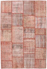 Patchwork Szőnyeg 156X233 Modern Csomózású Világos Rózsaszín/Barna (Gyapjú, Törökország)