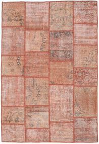 Patchwork Rug 160X235 Authentic  Modern Handknotted Light Pink/Brown (Wool, Turkey)