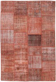 Patchwork Matto 159X234 Moderni Käsinsolmittu Ruskea/Vaaleanruskea (Villa, Turkki)