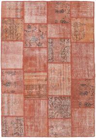 Patchwork Szőnyeg 158X231 Modern Csomózású Világos Rózsaszín/Barna/Világosbarna (Gyapjú, Törökország)