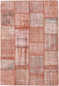 Patchwork Rug 158X233 Authentic  Modern Handknotted Light Pink/Brown (Wool, Turkey)