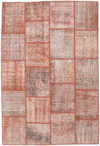 Patchwork Rug 156X230 Authentic  Modern Handknotted Light Pink/Brown (Wool, Turkey)
