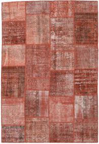 パッチワーク 絨毯 158X234 モダン 手織り 茶/薄茶色 (ウール, トルコ)