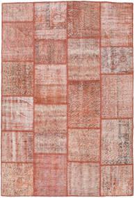 Patchwork Tappeto 158X233 Moderno Fatto A Mano Rosa Chiaro/Marrone (Lana, Turchia)