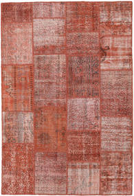 Patchwork Rug 158X233 Authentic  Modern Handknotted Brown/Light Pink (Wool, Turkey)