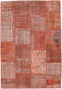 Patchwork Rug 156X229 Authentic  Modern Handknotted Brown/Light Brown (Wool, Turkey)